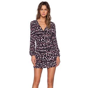 LOVERS + FRIENDS | Pink Jolene Animal Print Dress